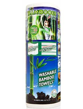 Bambooee   The Original Reuseable & Machine Washable Rayon From Bamboo Paper Towel Replacement As Seen On Shark Tank   We Plant A Tree With Every Roll We Sell   30 Sheet Roll by Bambooee
