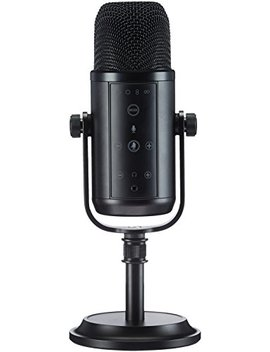 Amazon Basics Professional Usb Condenser Microphone   Black by Amazon Basics