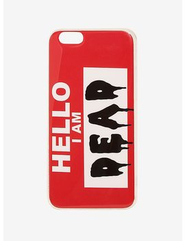 Hello I Am Dead Smartphone Case by Hot Topic