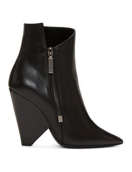 Black Niki Boots by Saint Laurent