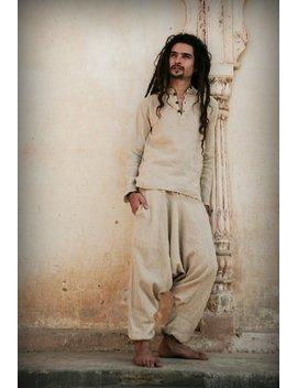 Short Kurta ~ Raw Cotton ~ by Etsy