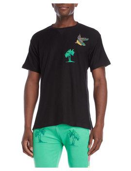 Palm Paradise Knit Tee by Billionaire Boys Club