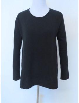 Co Black 100% Cashmere Crewneck Sweater Sz S by Co