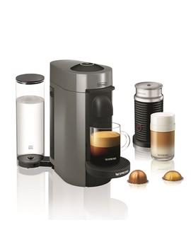 Nespresso Vertuo Plus Coffee Maker & Espresso Maker By Breville With Aeroccino Milk Frother by Williams   Sonoma