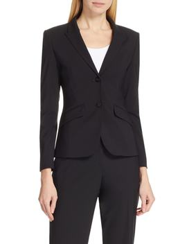 Julea Stretch Wool Jacket by Boss