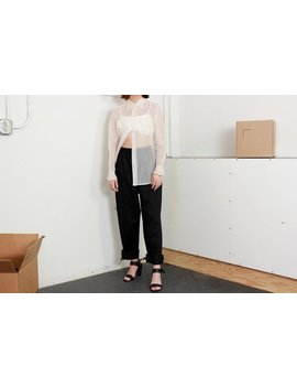 Black Easy Pants / M L Xl by Etsy