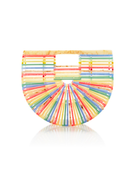 Small Sand Multi Acrylic Ark Bag by Cult Gaia