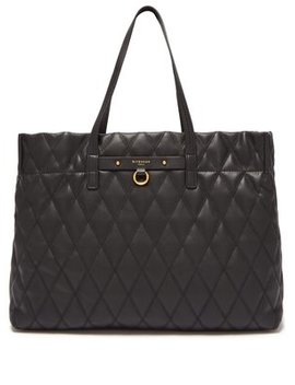 Duo Quilted Leather Tote by Givenchy
