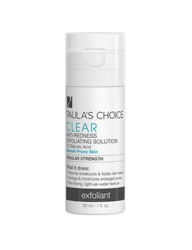 Paula's Choice Clear Regular Strength Anti Redness Exfoliating Solution With 2% Salicylic Acid   Trial Size (30ml) by Paula's Choice