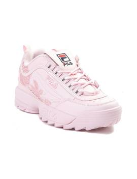 Womens Fila Disruptor Ii Rose Athletic Shoe by Read Reviews