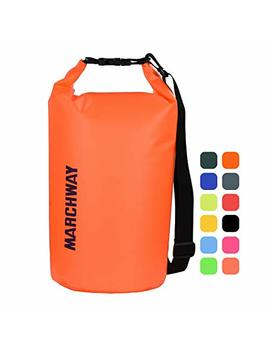Marchway Floating Waterproof Dry Bag 5 L/10 L/20 L/30 L/40 L, Roll Top Sack Keeps Gear Dry Kayaking, Rafting, Boating, Swimming, Camping, Hiking, Beach, Fishing by Marchway
