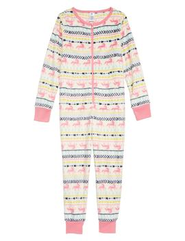 Cozy Print Fitted One Piece Pajamas by Tucker + Tate