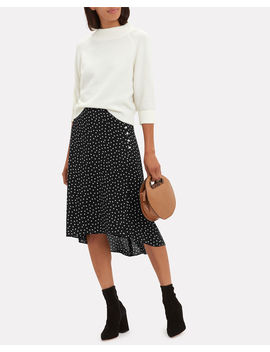 Casey Polka Dot Skirt by Intermix