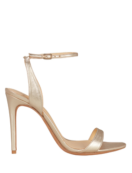 Willow Gold Leather Sandals by Alexandre Birman