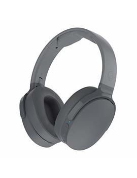 Skullcandy Hesh 3 Bluetooth Wireless Over Ear Headphones With Microphone, Rapid Charge 22 Hour Battery, Foldable, Memory Foam Ear Cushions For Comfortable All Day Fit, Gray by Skullcandy