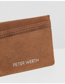 Peter Werth Tully Texture Card Holder by Peter Werth