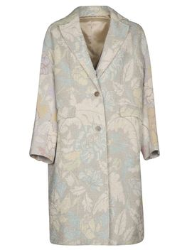 Acne Studios Oversized Floral Coat by Acne Studios