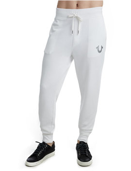 Metallic Double Puff Cuffed Mens Sweatpant by True Religion