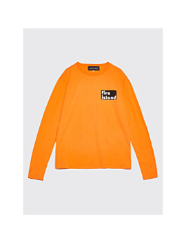 Bianca Chandôn X Tom Bianchi Fire Island Longsleeve T Shirt Orange by Très Bien