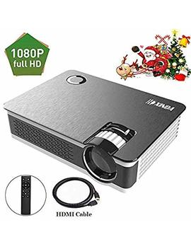 "1080 P Projector.Xinda Hd True Native 1920 X 1080 P Video Projector For 210""Display,3500 Lumens And 60,000 Hours Projector,Home Cinema Theater Support Smartphones Blu Ray Dvd Laptaps Amazon Fire Tv Stick by Xinda"