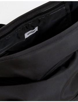 Weekday Mini Messenger Bag In Black by Weekday