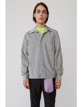 Corduroy Shirt Light Grey by Acne Studios