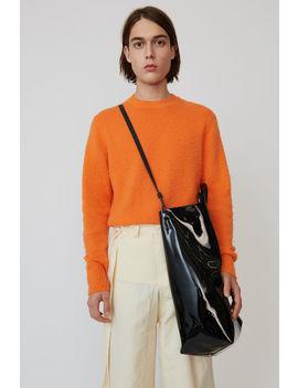 Crewneck Sweater Pumpkin Orange by Acne Studios