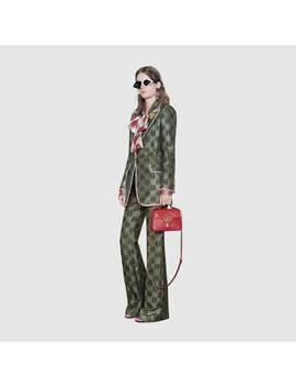 حقيبة جي جي مارمونت صغيرة الحجم ذات مقبض علوي by Gucci
