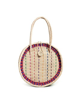 Straw Disco Bag by Pitusa