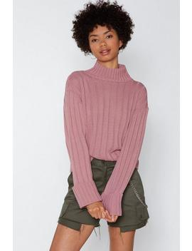 Warm Up Mock Sweater by Nasty Gal