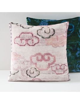 Lush Velvet Chinoiserie Pillow Covers by West Elm