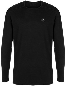 Logo Long Sleeve Sweater by Philipp Plein
