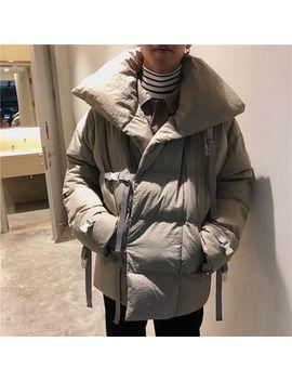 Algodon   Buckled Padded Jacket by Algodon