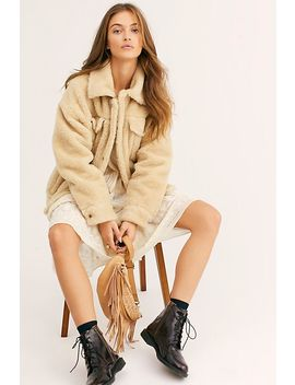 Sherpa Trucker Jacket by Free People