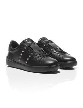 Black Rockstud Sneakers Sneakers by Valentino