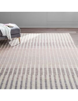 Linear Ombre Rug by West Elm