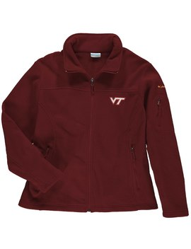 Virginia Tech Hokies Columbia Women's Plus Size Give And Go Jacket   Maroon by Columbia