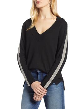 Chain Stripe Sweater by Halogen®