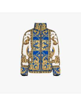 Signature Dea Feather Down Puffer Jacket by Versace