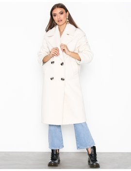 Boucle Coat by Topshop