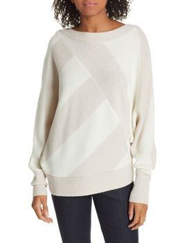 Bixby Bold Stripe Wool & Cashmere Sweater by Brochu Walker