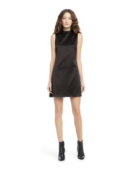 Coley Mock Neck Mini Dress by Alice And Olivia