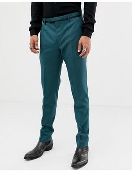 Twisted Tailor Super Skinny Suit Pants In Two Tone Geo by Twisted Tailor