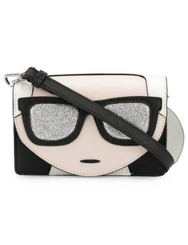 Ikonik Mini Crossbody Bag by Karl Lagerfeld