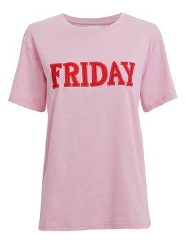 Friday Pink T Shirt by Alberta Ferretti