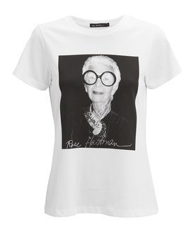 Iris Apfel T Shirt by Rose Hartman