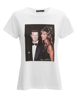Bowie And Iman T Shirt by Rose Hartman
