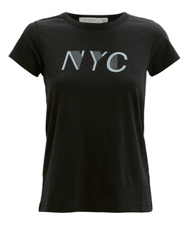 Nyc Black T Shirt by Rag & Bone/Jean