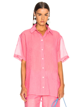 Short Sleeve Shirt by Victoria Beckham