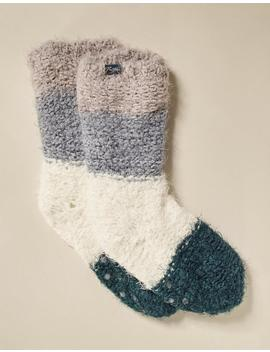 Soft Stripe Bed Socks by Fat Face